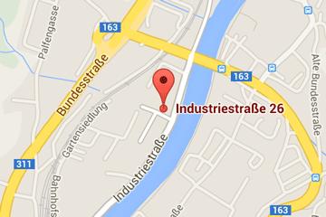 Plan Industriestraße 26, St. Johann